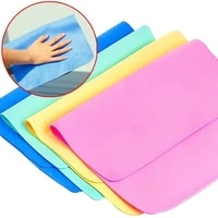 magical care synthetic pva deerskin cloth towels car wash multi function soft cleaning towel absorbent hand towels