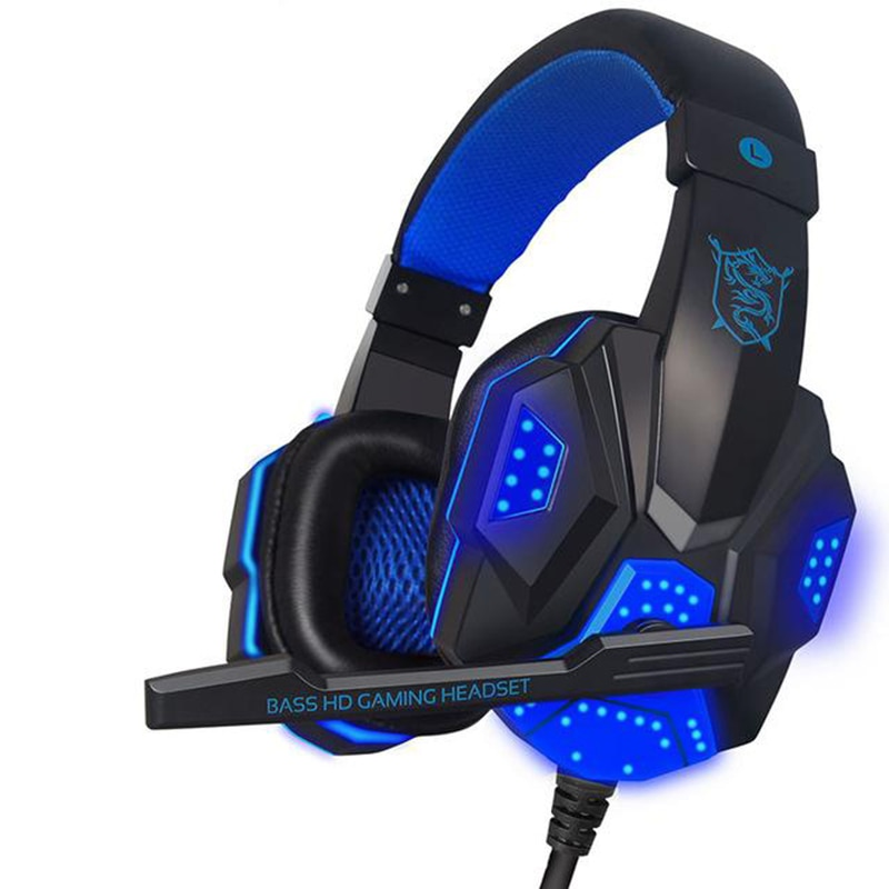 New Microphone Headset Gaming Headset Wired Gaming Headset Headphones For PS4 Xbox One Nintend Switc