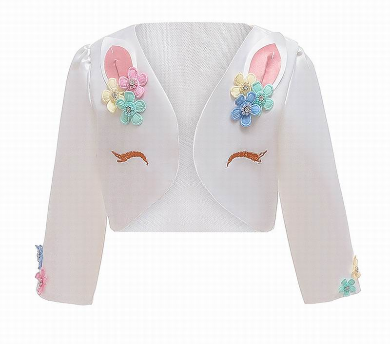 Unicorn Baby Coat Halloween Autumn winter Long Sleeve Cotton Coat Children Clothes 3-8 Years D0134