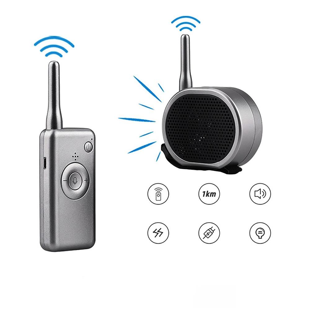ワイヤレススピーカードローン拡声器メガホン 1 キロ長距離dji mavicミニ/プロ/空気プロ/マヴィック 2 ドローンアクセサリー