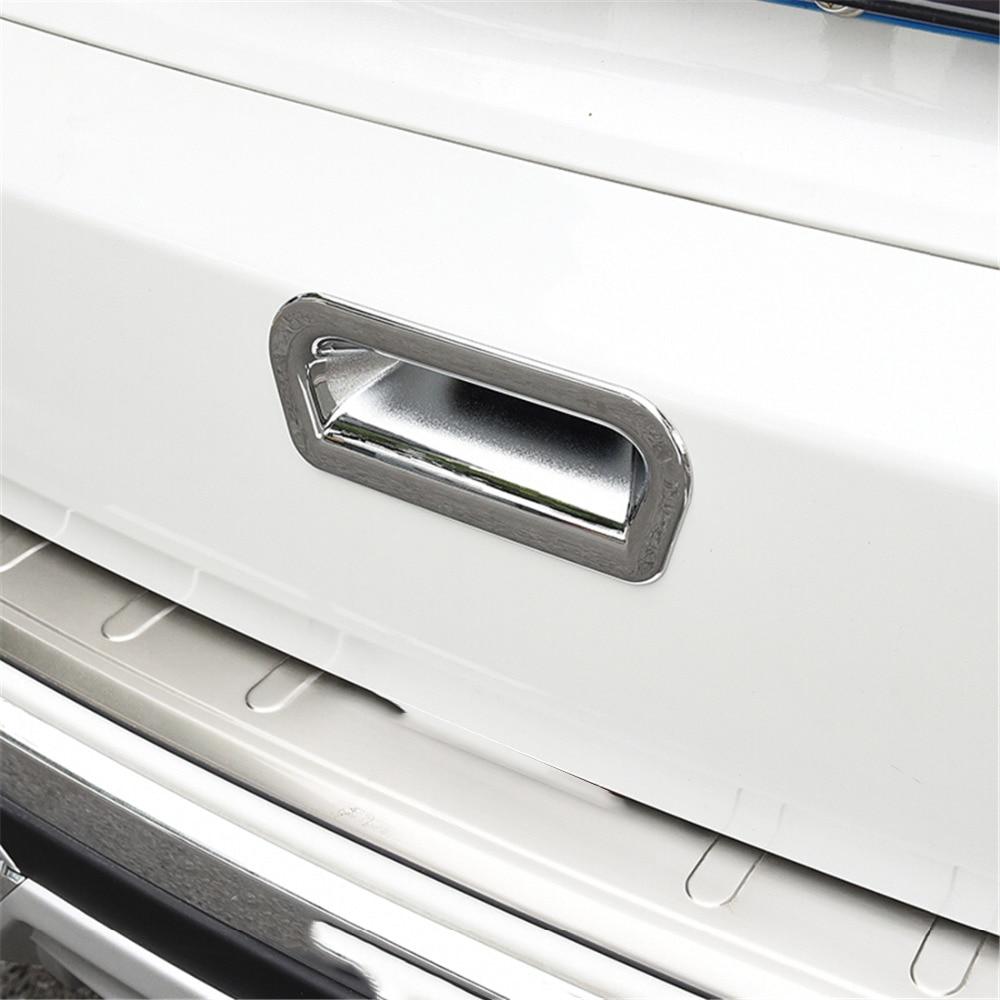 Adhesivo de manija de maletero para Honda CRV 2012 2013, embellecedor de marco de puerta de maletero Exterior de coche para Honda CRV 2014 2015 2016