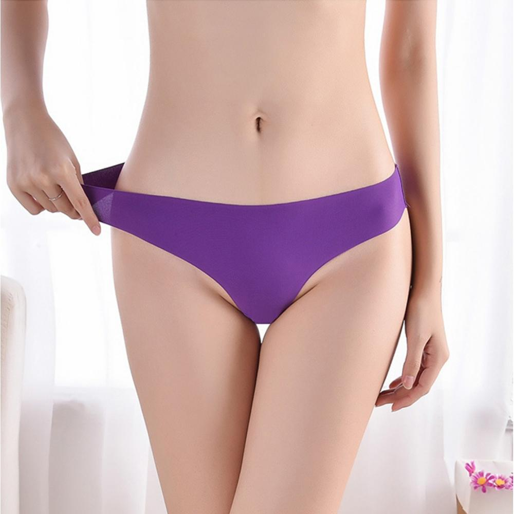 Laser Cut Panties Underwear Women Comfortable Seamless Thong G-String Sexy Hot
