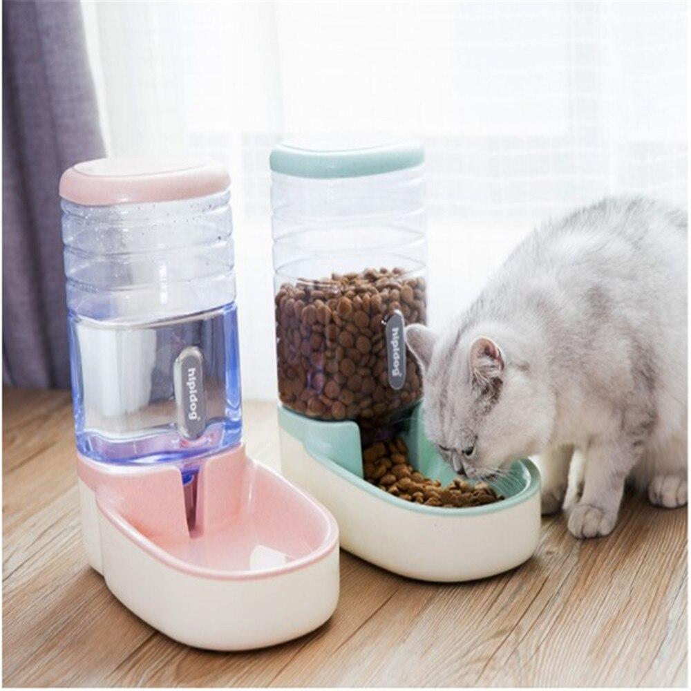 3.8L الحيوانات الأليفة مغذ أوتوماتيكي الكلب وعاء شُرب للقطط اكسسوارات تغذية المياه سقي لوازم سعة كبيرة موزع الساخن