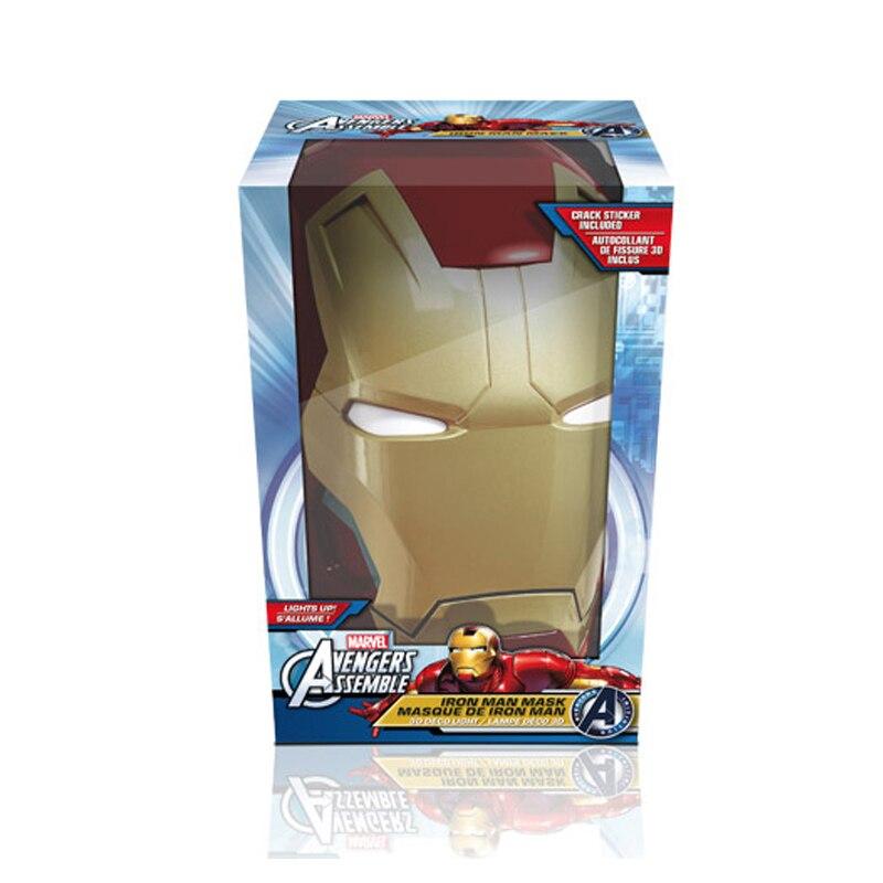 Acecorner Iron Man Face Hand 3D Creative Wall Lamp LED Night Light Avengers Marvel Bedroom Living Room Boys Kids Christmas Gift enlarge