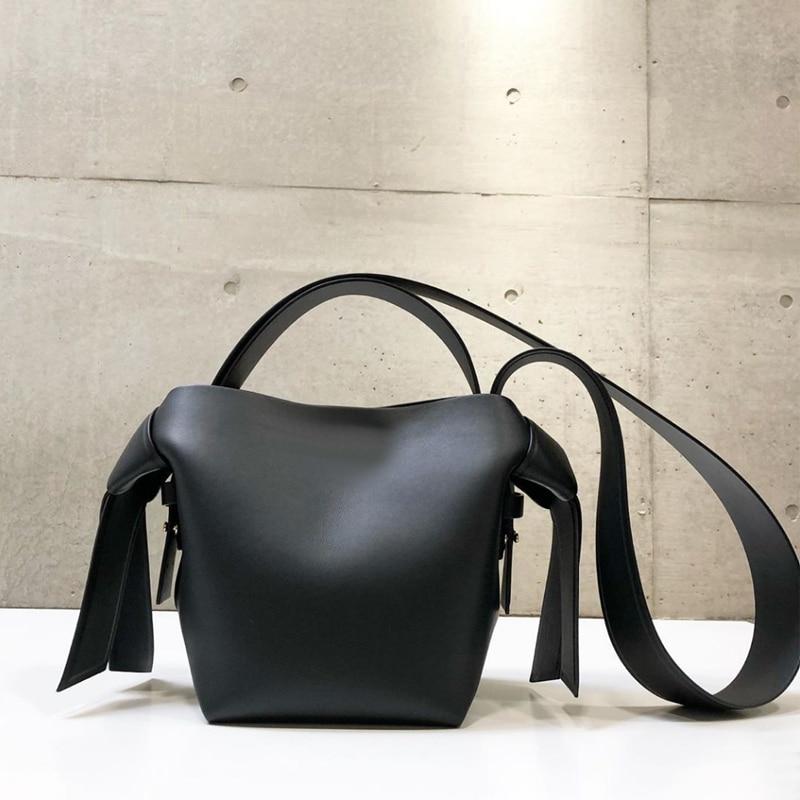 NEW Women Shoulder Bags Designer Handbags Tote Luxury Pu Leather Crossbody Bag Casual Simply Buckets Composite Purse