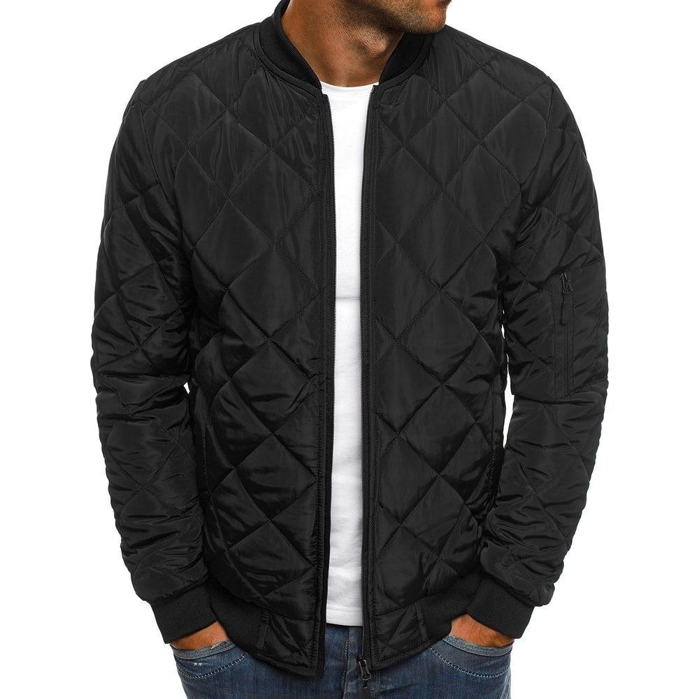 Новая мужская Повседневная парка в клетку куртка ветровка пальто зимняя одежда ветрозащитные куртки на молнии мужская одежда зимняя куртк...