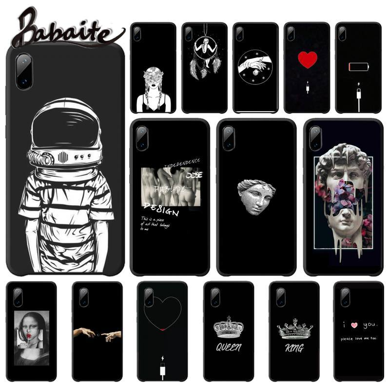 Menina amante do corpo rosa moda simplicidade casos capa para iphone se2 7 8 plus x xs max xr 11 pro max telefone acessórios