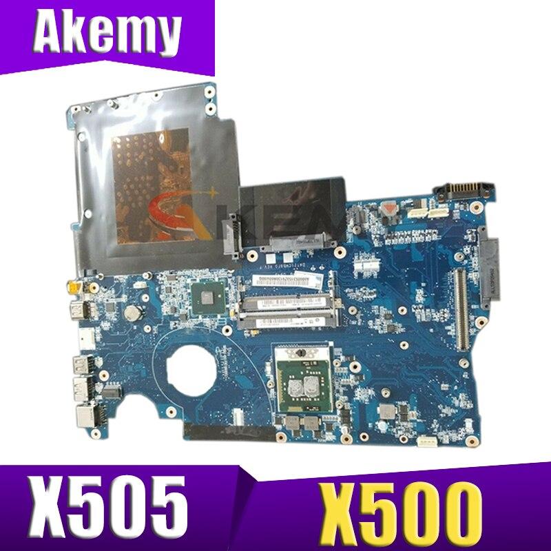 AKEMY A000052590 لأجهزة الكمبيوتر المحمول توشيبا X505 X500 اللوحة الأم DATZ1CMB8F0 31TZ1MB01V0 اختبار كامل