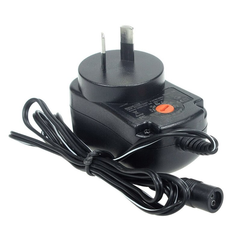 1 piezas 12W Universal AC es enchufe adaptador de corriente 3V 4,5 V 5V 6V 7,5 V cargador 9V 12V 1A con 6 fuentes de alimentación conectadas
