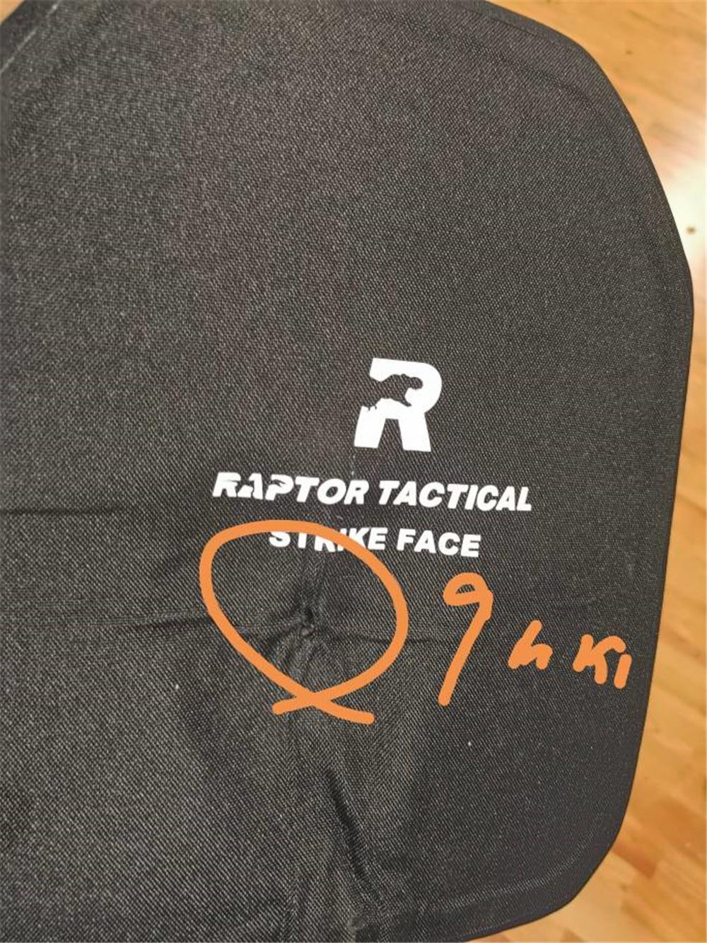 Raptor Tactical NIJ IIIA пуленепробиваемые пластины баллистическая пуленепробиваемая плата рюкзак броня панель пара набор баллистических щитков