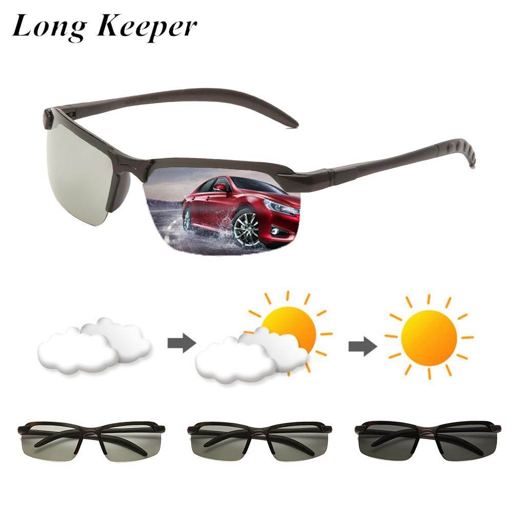 Gafas de sol fotocromáticas LongKeeper, gafas de sol polarizadas de camaleón para...