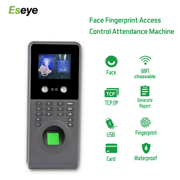 Eseye Fingerprint Attendance Biometric Face Recognition Systems RFID Access Control System Staff Office Time Attendance Machine