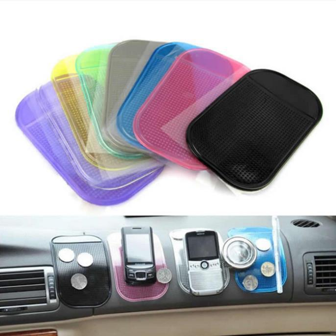 1 Pcs Anti-Slip Mat Automobiles Interior Accessories for Mobile Phone mp3mp4 Pad GPS Anti Slip Car S