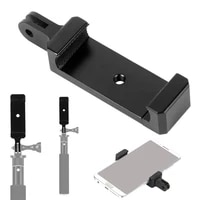 Phone Stand Holder Clip Tripod Adapter 1 4 Hole Mount Clamp for iPhone Huawei for Gopro Camera Monopod Selfie