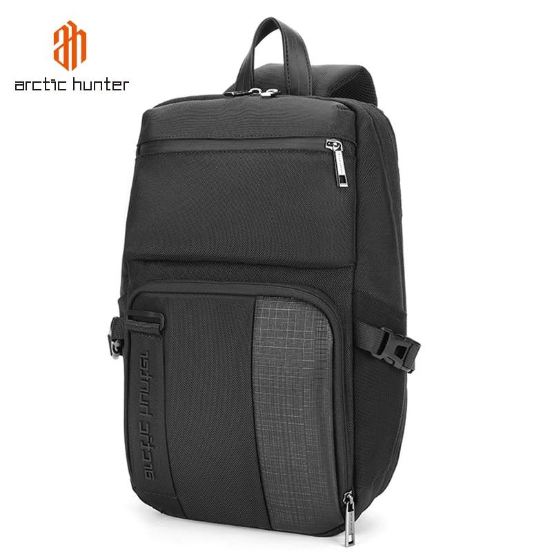 ARCTIC HUNTER, bolsa de pecho para hombre, bolso cruzado para hombre, impermeable, bolsas de viaje, para hombre, gran capacidad, pantalones cortos