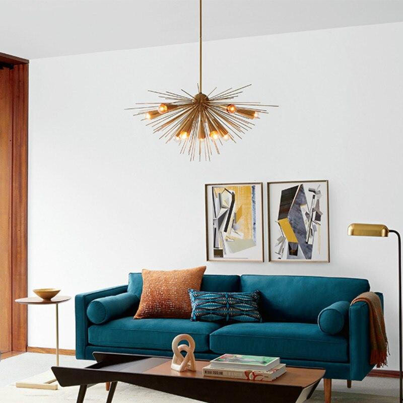 بسيطة غرفة المعيشة غرفة الطعام غرفة نوم دراسة نموذج غرفة ضوء التجارية الفاخرة المعادن قلادة الأقمار الصناعية أضواء WF1123315