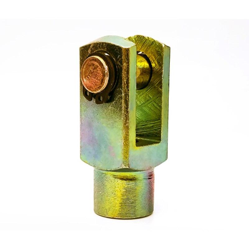 Y junção m4 m5 m6 m8 m10 m12 m15 m20 m27 m36 m42 fêmea para rosca macho cilindro pneumático montagem da haste de junta pistão clevis