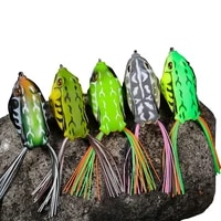 1pcs minnow fishing lure frog soft bait silicone 9g13g artificial crankbait wobbler jig trolling soft lure fishing tackle