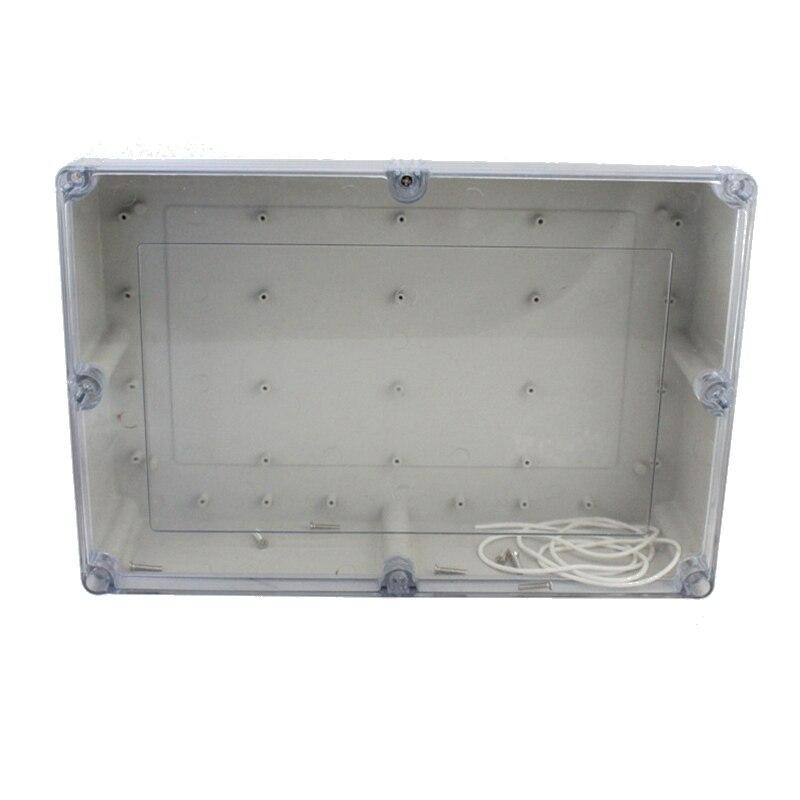 صندوق تقاطع الأسلاك البلاستيكية المقاومة للماء ، صندوق تقاطع الأسلاك البلاستيكية المقاومة للماء ، علبة شفافة ، محطة إلكترونية ، ABS IP65 ، 380 × ...