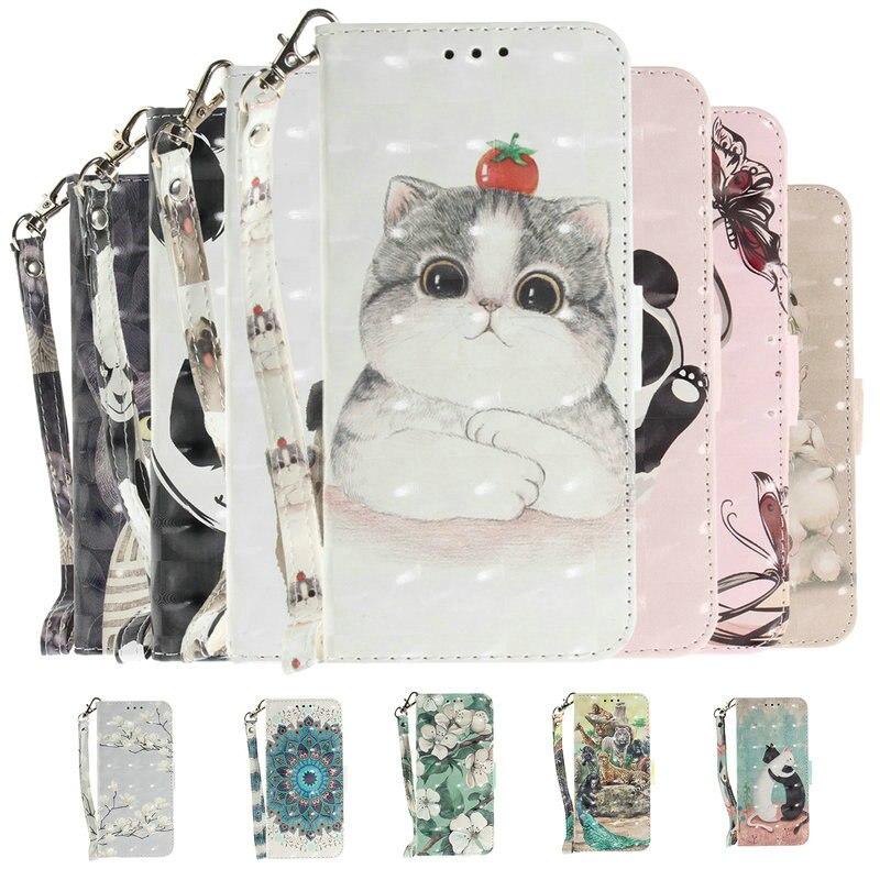 For Xiaomi Mi9T Protective Case Xiaomi Mi 9T Case 3D Cute Wallet Leather Flip for Funda Xiaomi Mi 9T Pro Case Xiomi Mi9 T 9 T9
