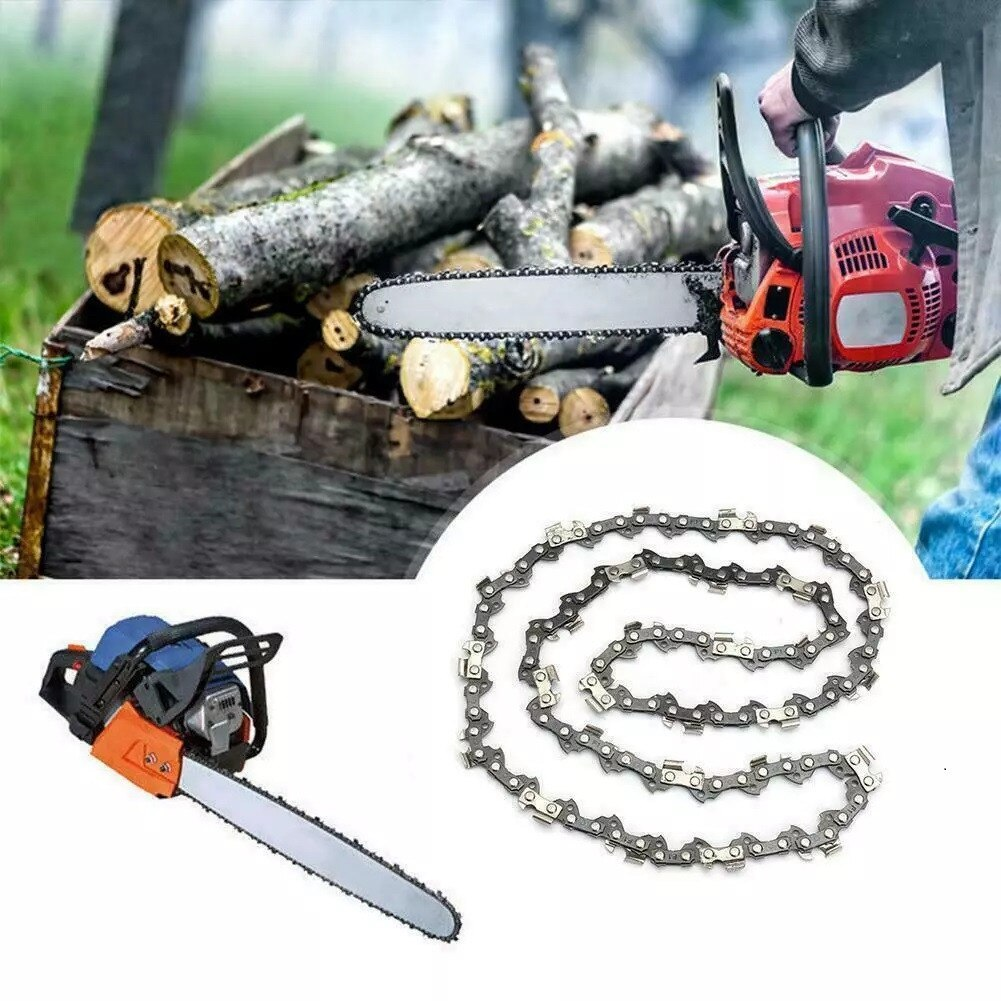 22inch Saw Chain Blade 0.325LP Pitch 0.058 Gauge 86DL Drive Link For Chainsaw Chain Saw Accessories Saw Blade Replacement electric chain saw huter els 2000p flat blade chainsaw link tooth saw chain cutter cross cut saw