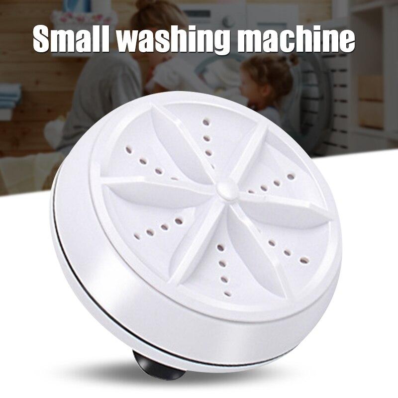 Máquina de Lavar Ferramenta de Limpeza Portátil para o Uso ao ar Livre do Curso Ultrassônica Multifuncional Redonda Mini Ali88 9cm