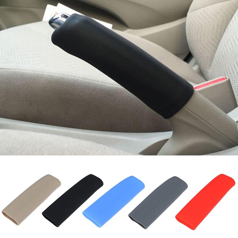 Силиконовый гелевый Чехол Противоскользящий ручной тормоз Универсальный Автомобильный Ручной тормоз силиконовый чехол