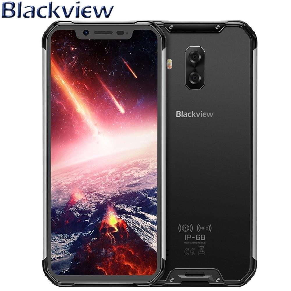 Перейти на Алиэкспресс и купить Blackview BV9600 Pro мобильный телефон 6,21 дюйм19:9 FHD прочный IP68 Водонепроницаемый Helio P60 MT6771 Android 8,1 6 ГБ + 128 Гб AMOLED 5580 мАч NFC