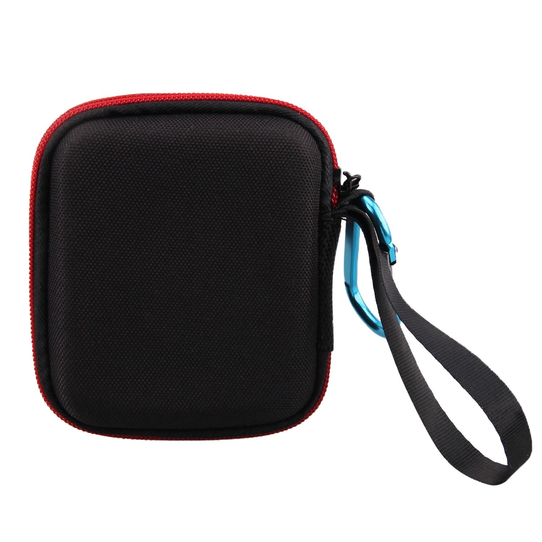 Besegad viagem portátil transportando caso duro saco de armazenamento de proteção bolsa capa com mosquetão para jbl go 2 go2 alto-falante caso saco