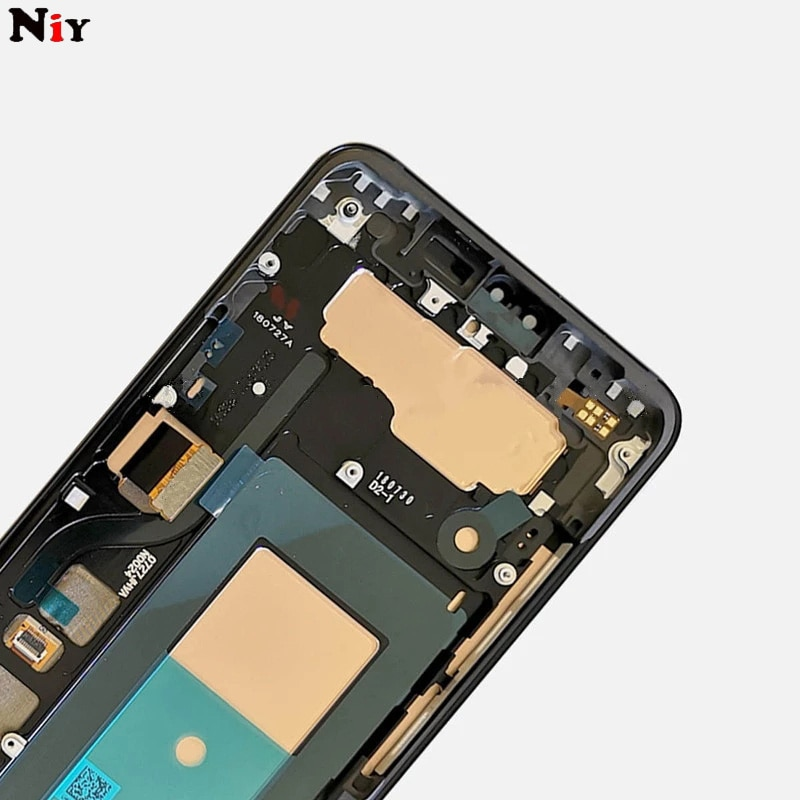 For LG V40 V50 LCD Display Touch Screen Digitizer Assembly With Frame For LG V40 ThinQ V50 ThinQ 5G lcd Replacement enlarge