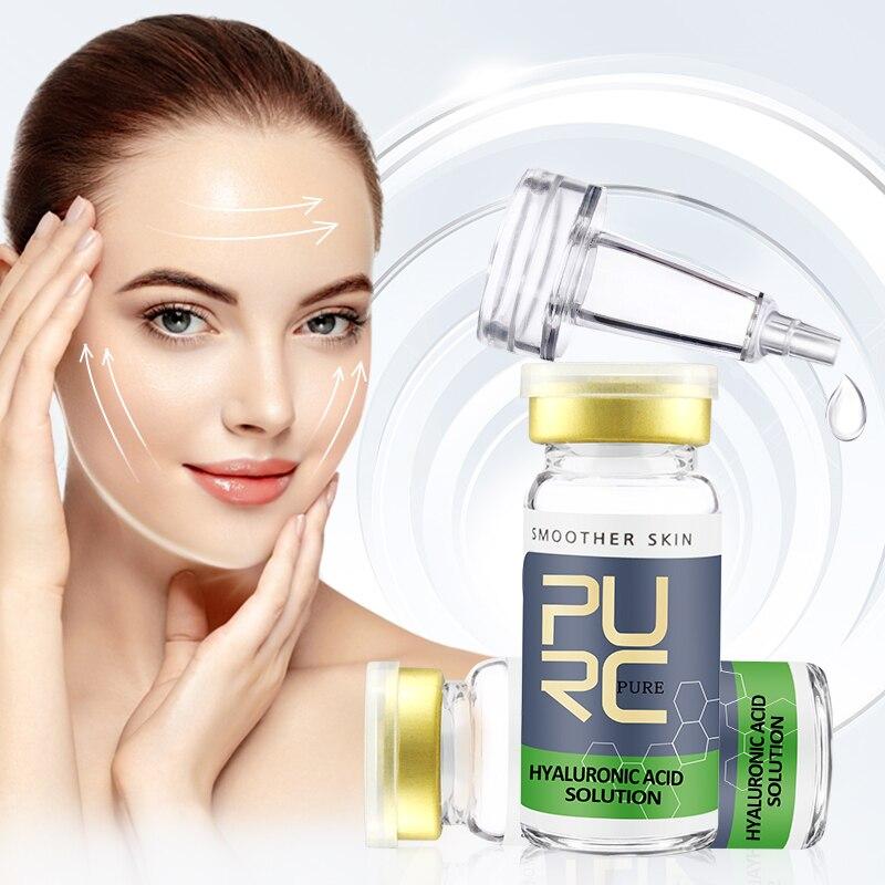 AuQuest Hyaluronic Acid Face Serum Anti Wrinkle Aging Shrink Pore Moisturizing Whitening Essence Skin Care 10ml недорого