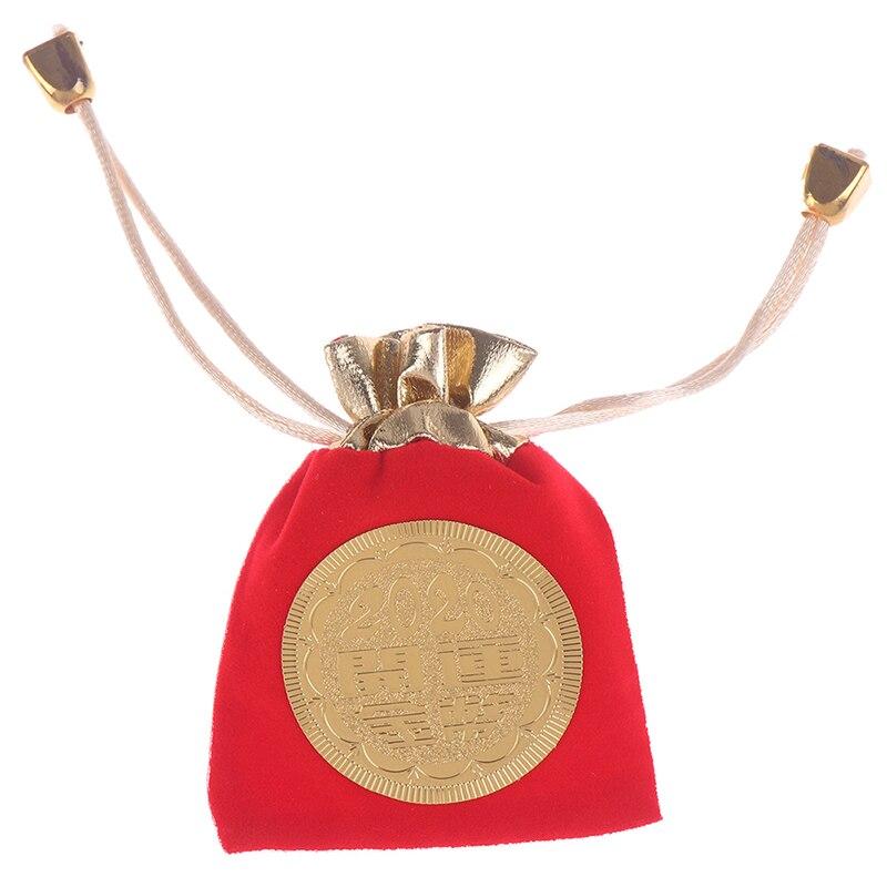 Moneda de regalo de Año Nuevo de colección de monedas de rata chapadas en oro buena fortuna decoración de regalo de la suerte ratón rata conmemorativa