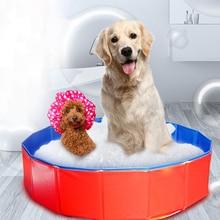 Opvouwbare Hond Zwembad Douche Hond Zwembad Tuin Zomer Zwembad Huis Bed Hond Baden Bad Opvouwbare Bad Voor Hond kat