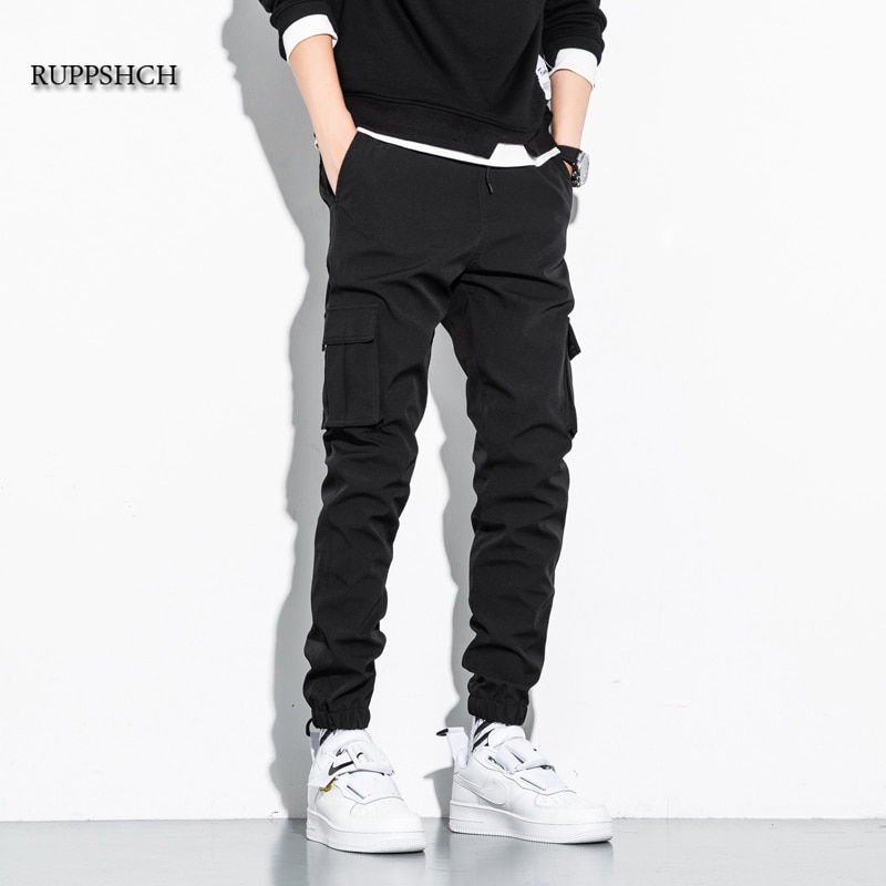 Men Casual Pants Jogging Military Work Pants Multi-Pocket Casual Work Tactical Camouflage Sports Pan