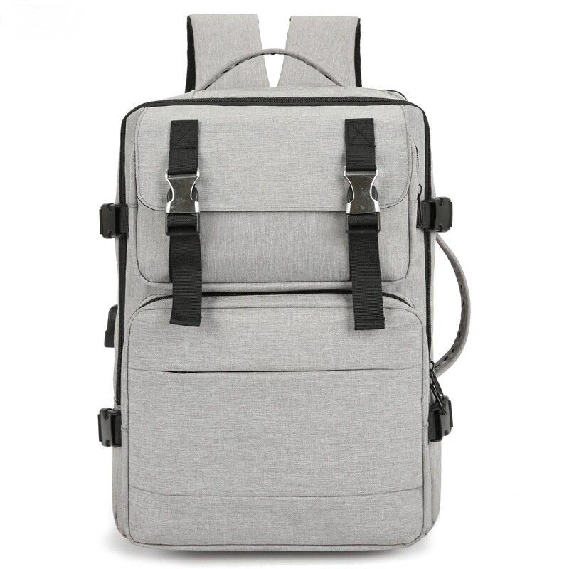 2021 الرجال محمول على ظهره للرجال مكافحة سرقة مقاوم للماء حقيبة من القماش بنين مدرسة حقيبة السفر للمراهق مع الشحن