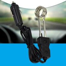 Chauffe-eau électrique Portable 12V/24V   1 pièce, pour voiture, par Immersion, pour voyage Camping pique-nique, offre spéciale