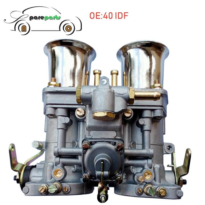 Carburador motor 40 IDF 2 barril para WEBER 40IDF para Bug Volkswagen Beetle Fiat