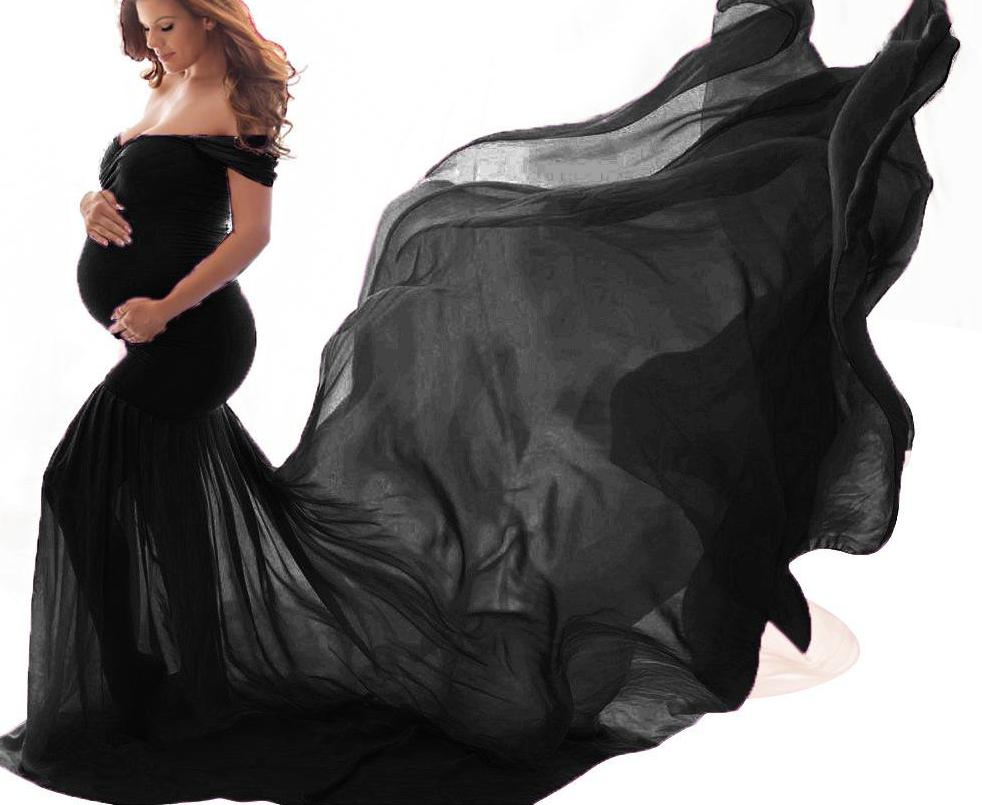 Pregnant Dresses For Photo Shoot Maternity Photography Dress Props Maxi Dresses For Pregnant Women Clothes Dress photo 1700000 enlarge