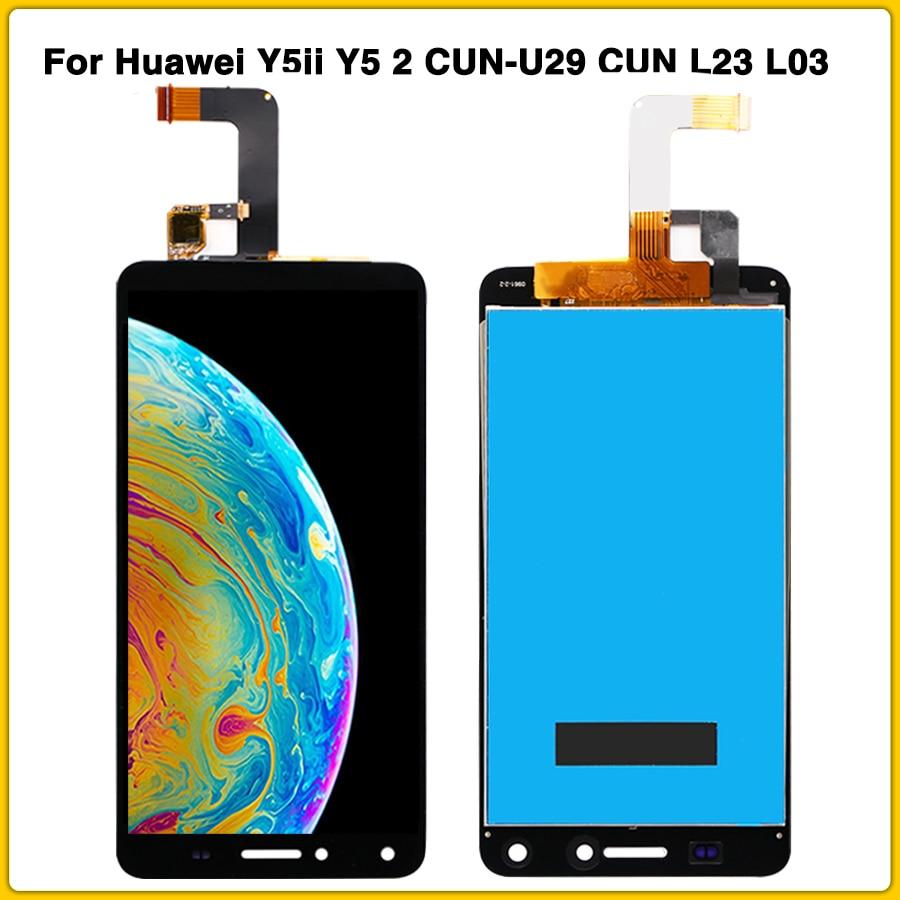 Nuevo Y5 II panel táctil LCD para Huawei Y5ii Y5 2 CUN-U29 CUN L23 L03 L33 L21 pantalla LCD de montaje de digitalizador con pantalla táctil
