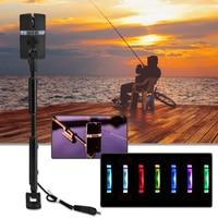 Сигнализатор поклевки для рыбалки на карпа, и светодиодный рыболовный свингер подсветкой сигнализаторы для ловли карпа 7 цветов индикатор ...