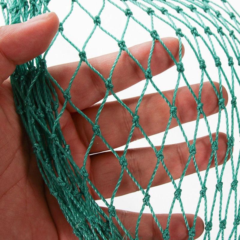 Ağır Anti kuş netleştirme Net bahçe çit ve bitkileri koruyucu çit için tel örgü Anti kuş geyik kedi köpek tavuk Net balık ağı