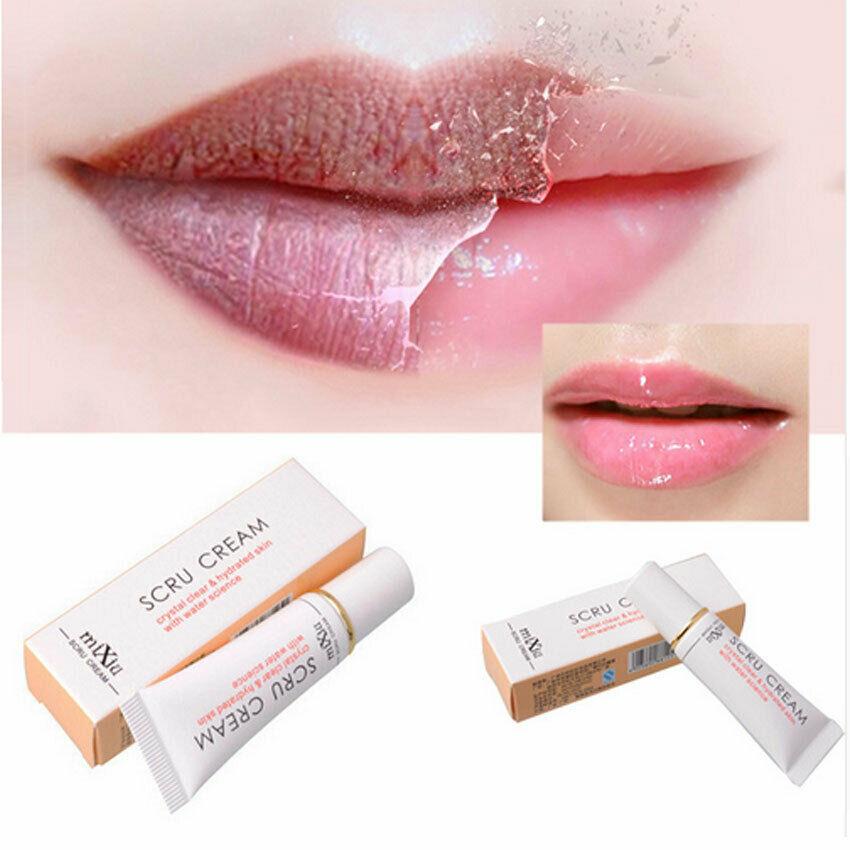 1pcs Protect Repair Lip Scrub Moisturizing Remove Dead Skin Gel Lip Care Exfoliating Full Pink Lip Lightening Cream Cosmetics