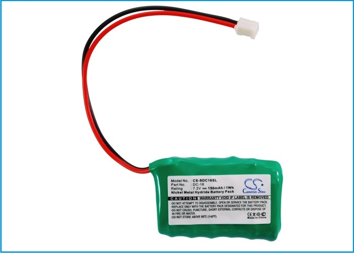 Cameron Sino 150mAh Battery DC-16 for Field FT-100, Trainer SD-400S, for SportDog 650-059 Cameron Si