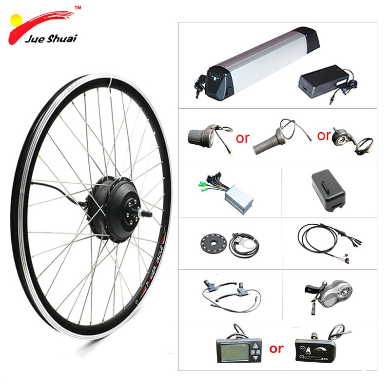 36V 10AH 500W Ebike Kit de conversión eléctrica Kit de Bicicleta 20...