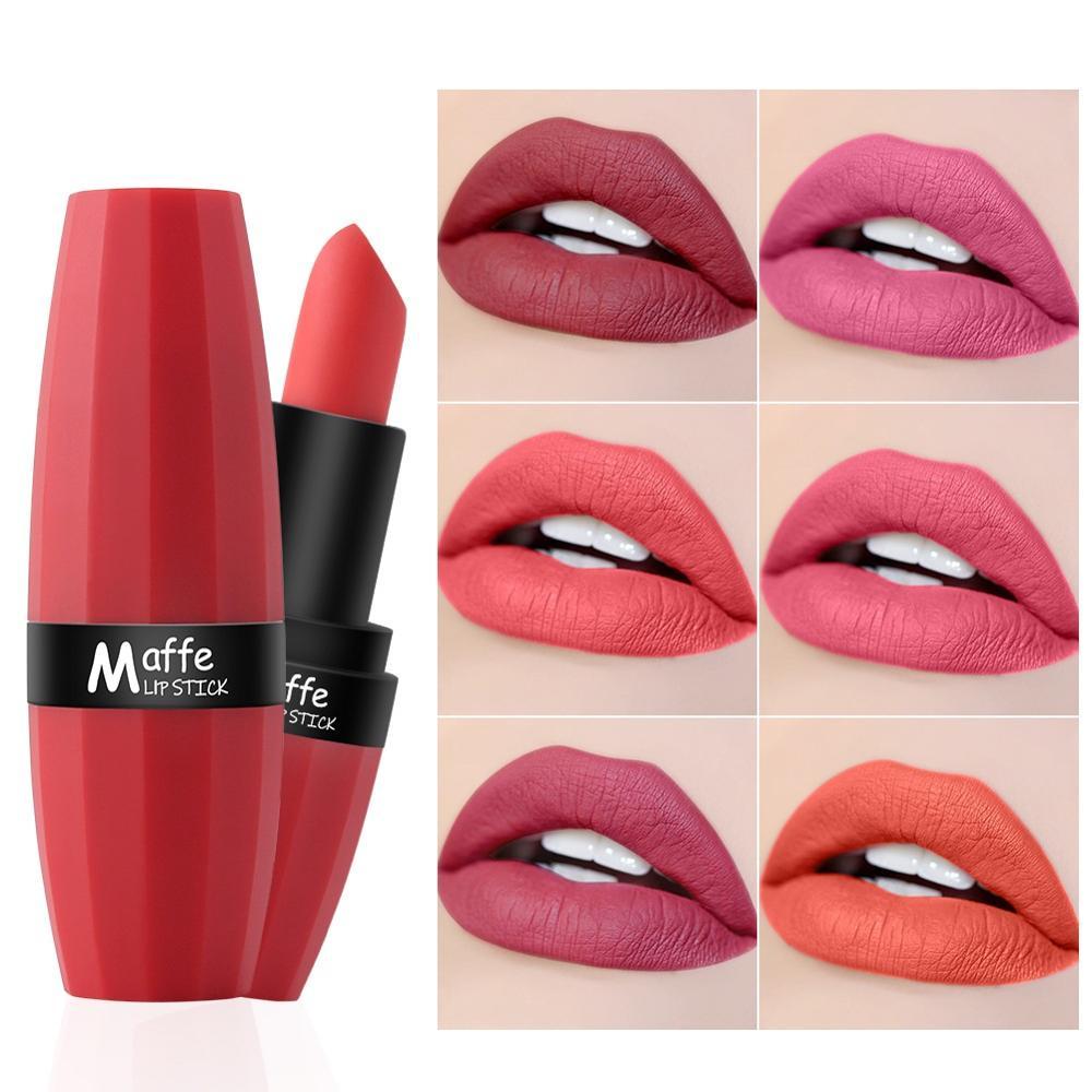 Lip Matte Lipstick Lip Tint Makeup Lipstick Waterproof Long Lasting Lipstick Sexy Red Lip Gloss Lipstick Set Cosmetics Make Up
