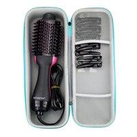 Новая жесткая дорожная защитная сумка EVA, чехол для переноски, чехол для Revlon, одноступенчатый фен для волос, объемник, стайлер и аксессуары