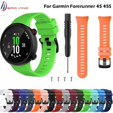 15 colors Wristband Band Strap for Garmin Forerunner 45 45S Silicone Replacement Smart watch Fashion