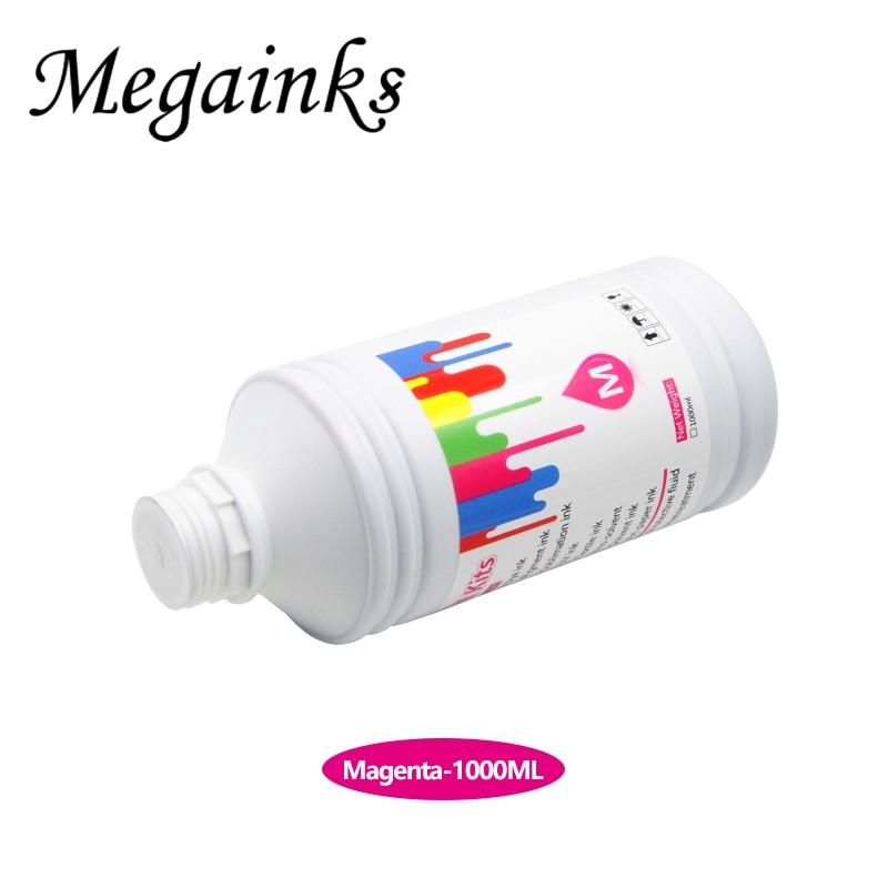 Megainks BK C M Y 1000ML Digital Textile Ink for Pansonic printhead for panasonic printer enlarge