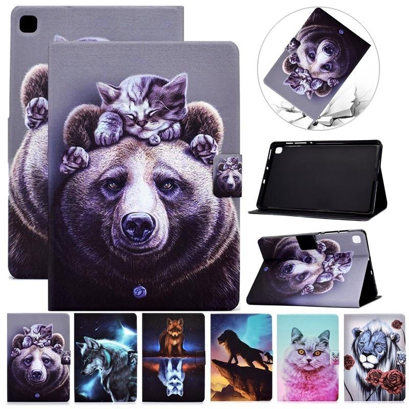 Funda Para iPad Air 2020 10,9, carcasa con patrón de animales, Para...