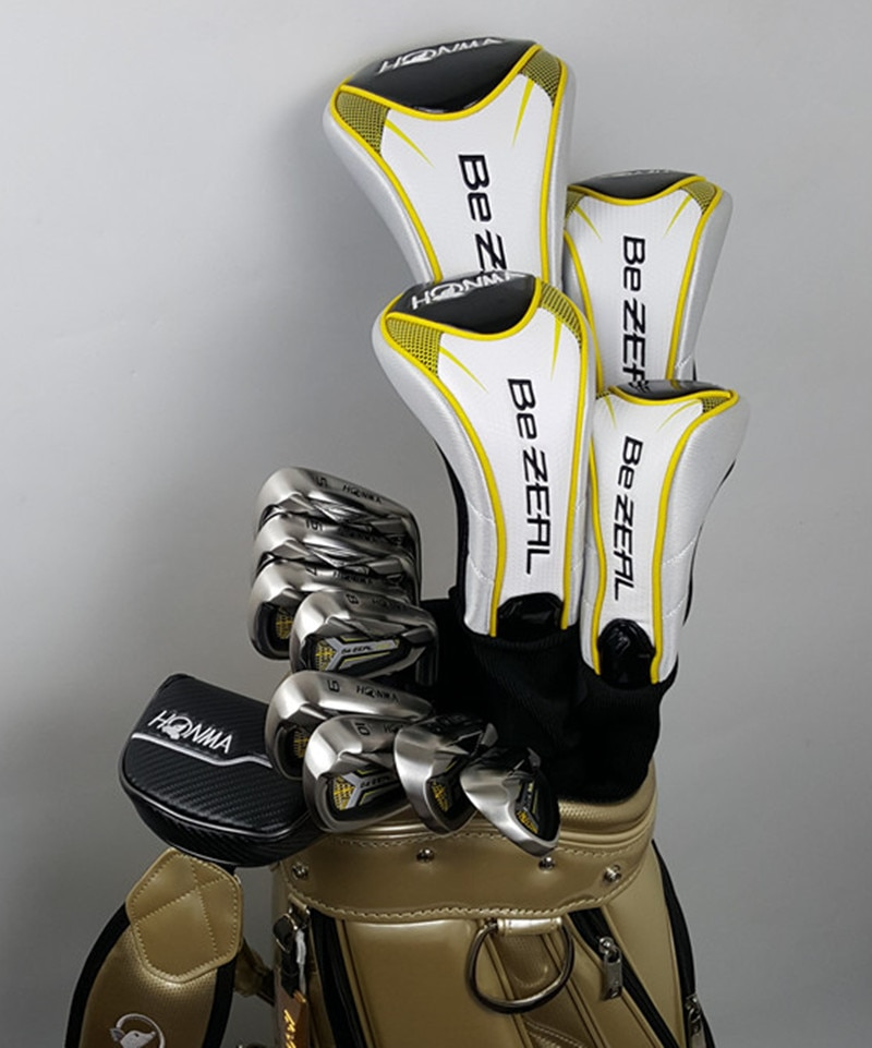 New 525 golf club HONMA BEZEAL 525 full set HONMA golf club driver.wood.irons.putter graphite golf (without bag) free shipping